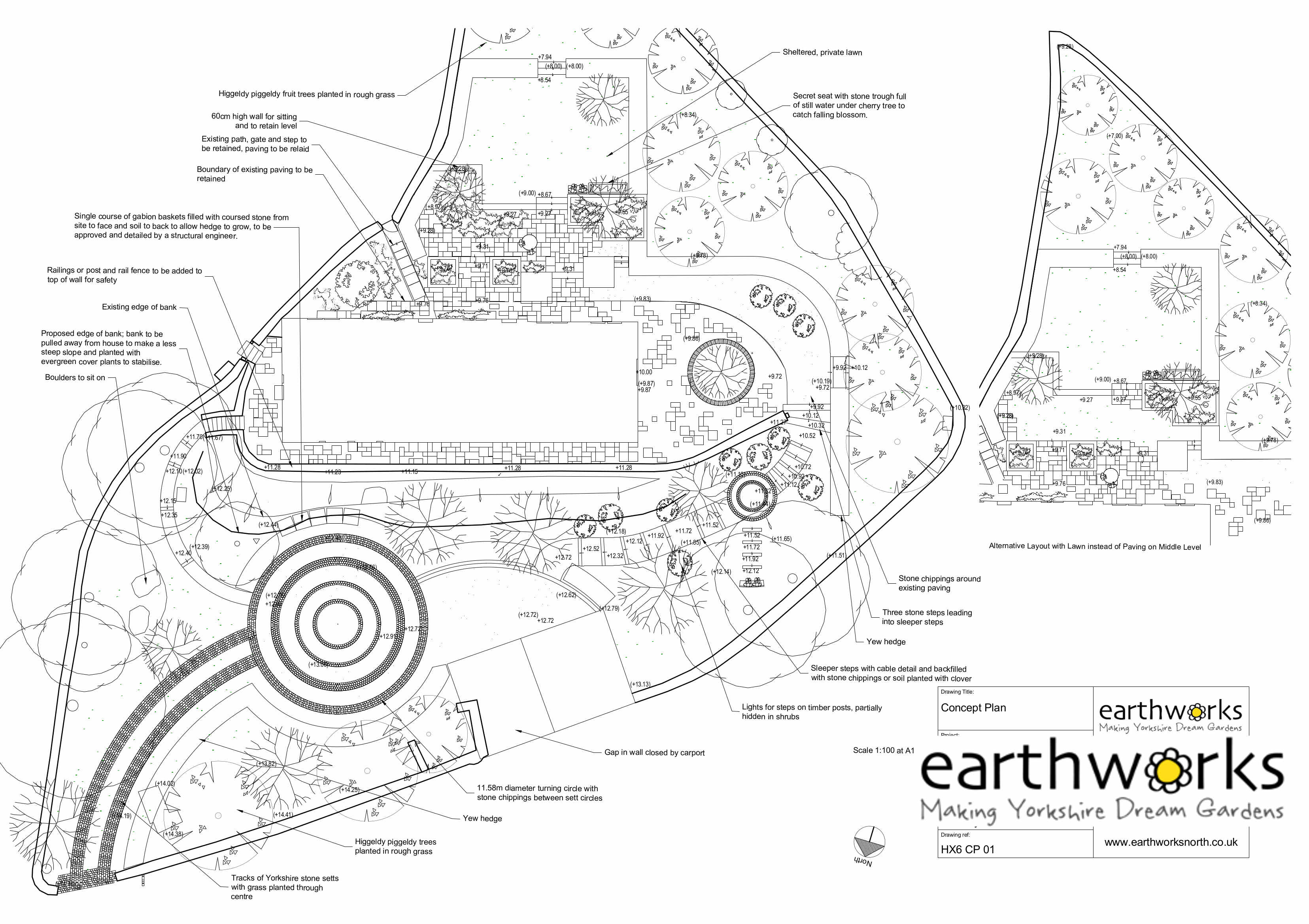 Earthworks Garden Design
